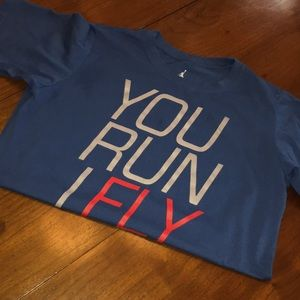"Jordan ""You Run I Fly"" T-shirt"